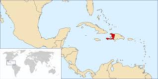 Image result for haiti world map