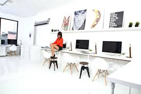 long office table. Enchanting Long Office Tables Work Desk Home Space Desks Home: Full Table D