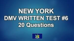new york dmv written test 6