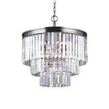 chandelier extraordinary brushed nickel crystal chandelier brushed nickel chandelier modern round black top chandeliers with