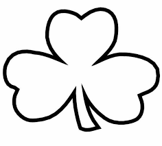 Small Picture Best Shamrock Coloring Page 53 On Line Drawings with Shamrock