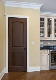 walnut paint color for wood custom solid wood interior doors traditional design doors by big
