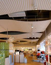 corrugated acoustical ceilings mc1 corrugated metal ceiling l60 ceiling