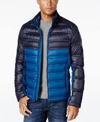 Michael Kors Quilted Colorblocked Down Jacket - Mens Coats - SLP ... & Michael Kors Quilted Colorblocked Down Jacket Adamdwight.com