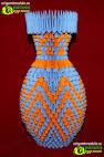 Модульное оригами вазы с пошаговой инструкцией