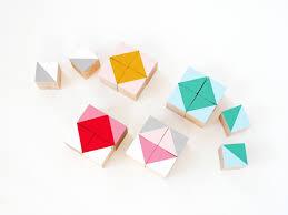 ... DIY geometric wood block by La maison de Loulou-4