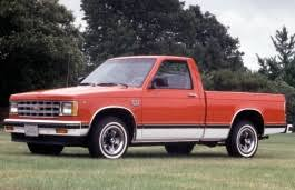 Chevrolet S10 1989 Wheel Tire Sizes Pcd Offset And