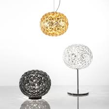 planet led table lamp from kartell in the shop
