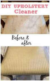 homemade upholstery cleaner with simple ingredients homemade