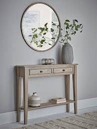 camille console table limewashed