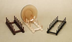 Multiple Plate Display Stands wooden plate stand Google Search plate racks Pinterest 12