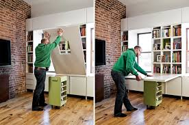 tiny apartment furniture. A Family Of Four Squeezes Into This Tiny 640-Square-Foot East Village Apartment Furniture U