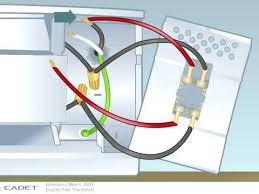 double pole thermostat wiring diagram double wiring diagrams online how to install