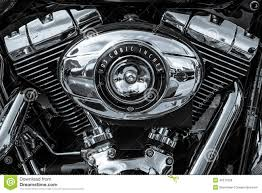 twin cam 103 engine closeup of motorcycle harley davidson softail