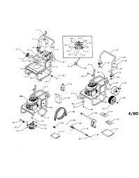 Free printable honda pressure washer carburetor diagram large size