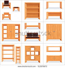 wood furniture clipart. Exellent Clipart Furniture Clipart Wooden Furniture Vector Collection Retro Stock Graphic  Download For Wood Clipart T
