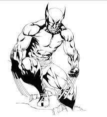 Small Picture Free Printable Wolverine Coloring Pages For Kids Wolverine