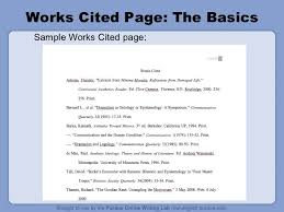 How To List Works Cited Sample Contract Freelance Writer Contract Columbia Law School Mla
