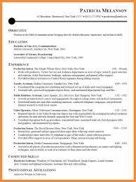 6 7 Internship Resume Bioexamples