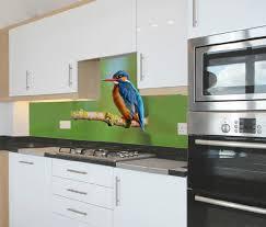 animals printed kitchen splashbacks