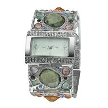 online buy whole skinny wrists watches from skinny 2016 high quality exotic stony shaped big female wrist watch rhinestone square face skinny lady