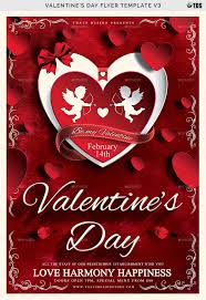 Valentines Flyers Valentines Day Flyer Template V3