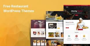 Wp Restaurant Themes 10 Responsive Free Wordpress Restaurant Themes Templates 2019