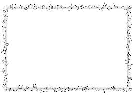 無料イラスト 楽譜のフレーム パブリックドメインq著作権フリー画像
