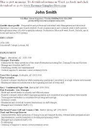 Bartender Resume Template Mesmerizing Sample Bartender Resume Skills Restaurant Bartender Resume Resume