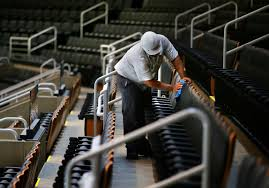 Old Boston Garden Seating Chart Have Td Gardens Seats Gotten Smaller Its A Tight Question