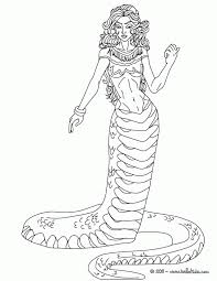 Small Picture Medusa Coloring Pages Printable Medusa Coloring Pages Medusa