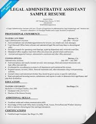 Administrative Assistant Resume Sample Luxury 54 Best Larry Paul