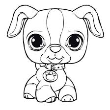 Dog Cute Puppy Animal Coloring Pages Coloring For Kids 2019
