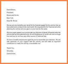 financial aid appeal letter example of an appeal letter 8 financial aid appeal essay examples appeal letter 2017