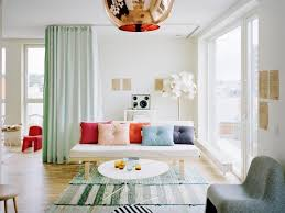 Living Room Bright And Simplistic Living Room Features Mint Blue Within Mint  Green Sofas (Image
