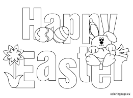 Small Picture Happy Easter coloring Easter Pinterest Easter colouring