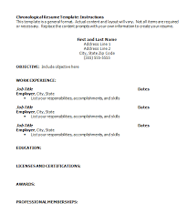 Formal Resume Template Printable Resume Format