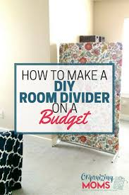 no sewing no building no craftiness how to make a diy room divider