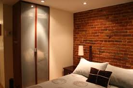 Small Picture Awesome 30 Brick Wall Bedroom Inspiration Design Of Best 20