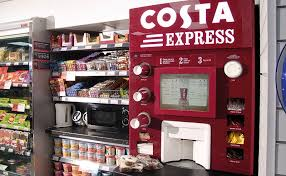 Costa Vending Machine Interesting Five More Years For Partnership Scottish Grocer Convenience Retailer