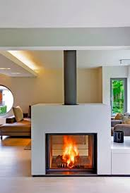 20 gorgeous two sided fireplaces for your spacious homes tags double sided fireplace design