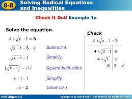 solving radical equations and inequalities examples jennarocca