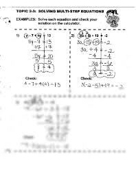 2 3 solving multi step equations pdf at east chambers junior high school studyblue