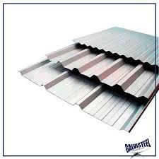 As telhas podem ser galvanizadas, ecológicas, cerâmica (barro), concreto, fibrocimento, vidro, metálicas e de. Telha Trapezoidal Pre Pintada Galvisteel