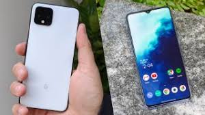 Google Pixel Size Chart Pixel 4 Vs Oneplus 7t Which Is The Better Android Phone