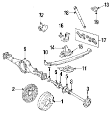 parts com® toyota partnumber 4837135010 1989 toyota pickup dlx v6 3 0 liter gas suspension components