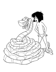 Small Picture The Jungle Book Coloring Pages Coloring Home