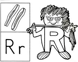 Letter People Coloring Page 28833, - Bestofcoloring.com