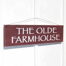 Small Picture The Olde Farmhouse sign wooden rustic farmhouse style home decor