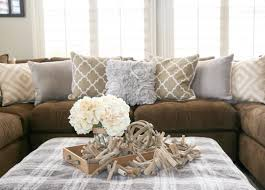 grey and brown furniture. Sofa Decoration What Colour Wallpaper Goes With Brown Dark Leather Sectional Decorating Ideas Best Paint Colors For Furniture Grey And T